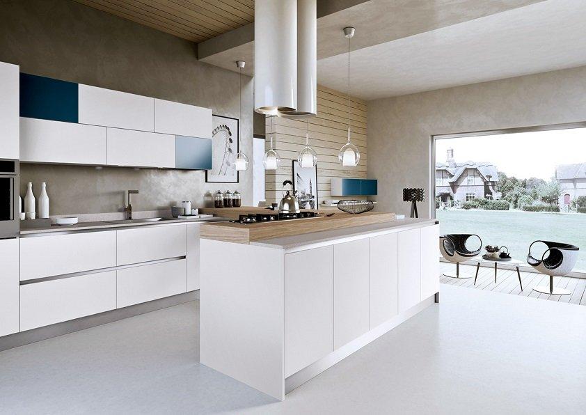 7 white blue kitchen11 - Кухни и Шкафы на Заказ в Находке