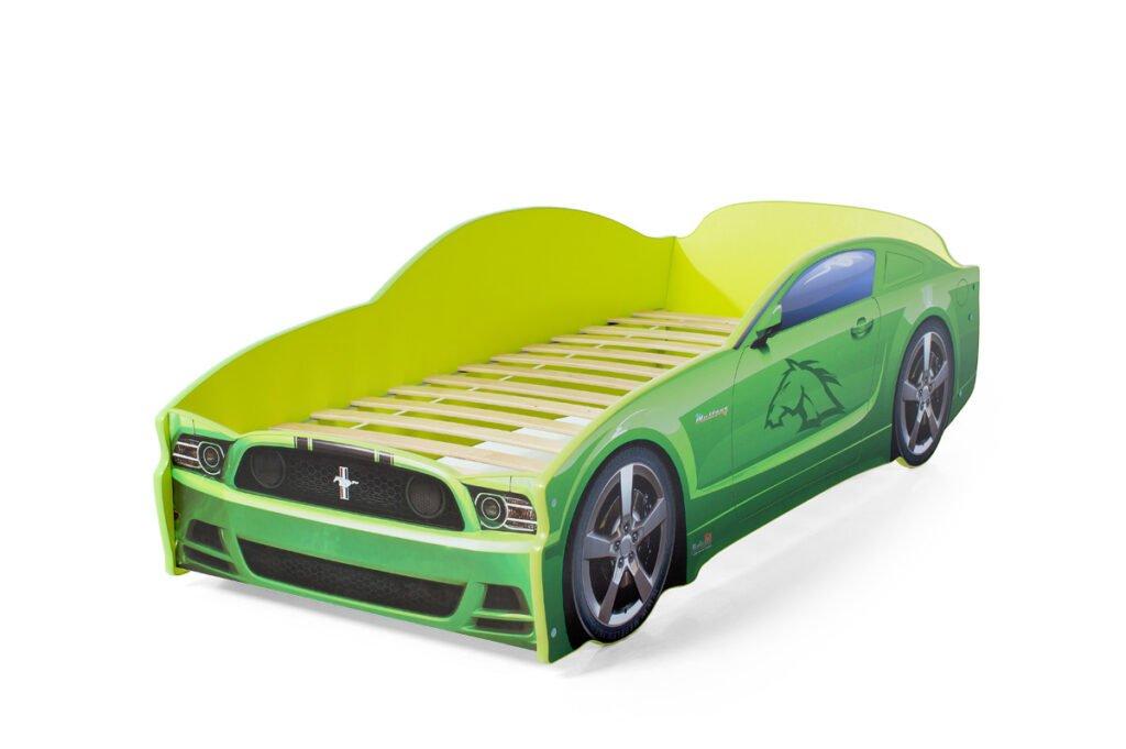 Мустанг-зелёный